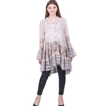 Schiffli Tunic for Ladies