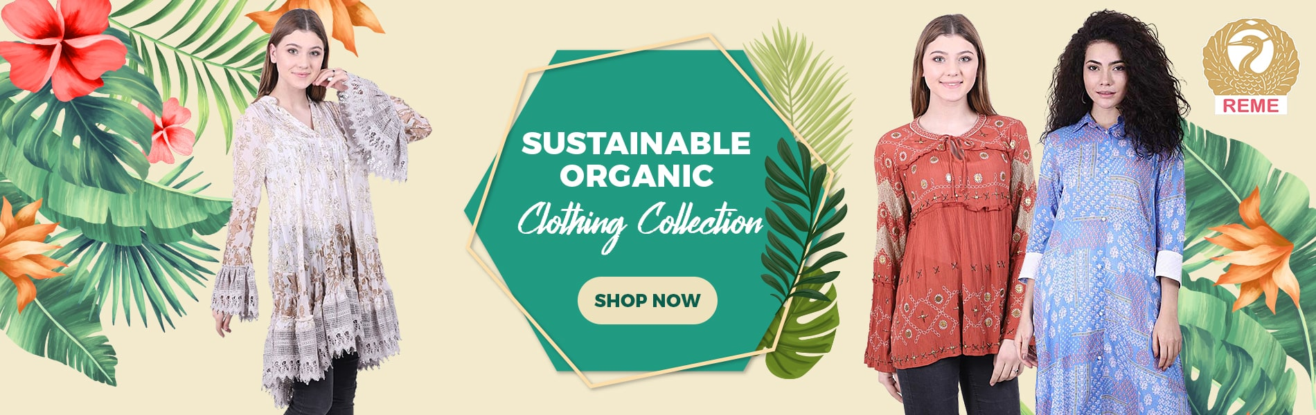 REME Organic Clothing collection