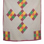 Woolen Embroidered quilt