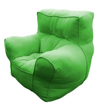 Green comfu sofa for adults