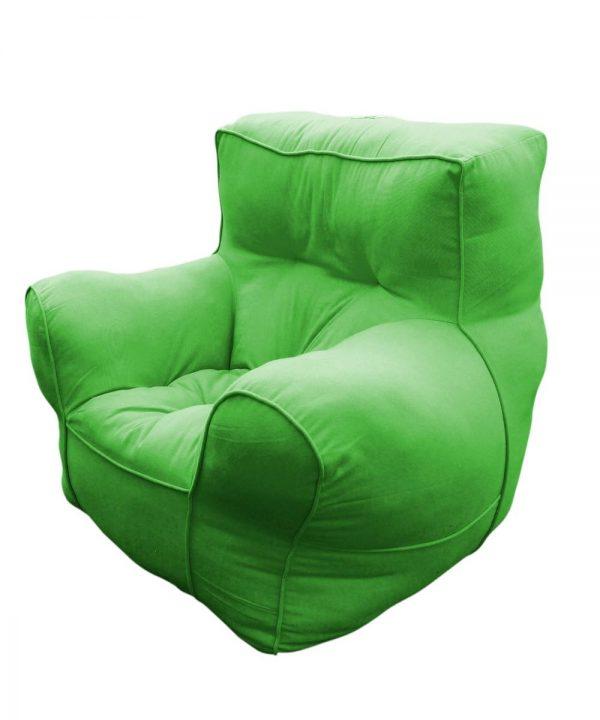 Green comfu sofa for adults