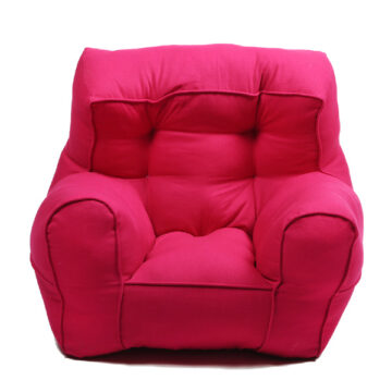 Magenta Organic Cotton Comfu adult Sofa