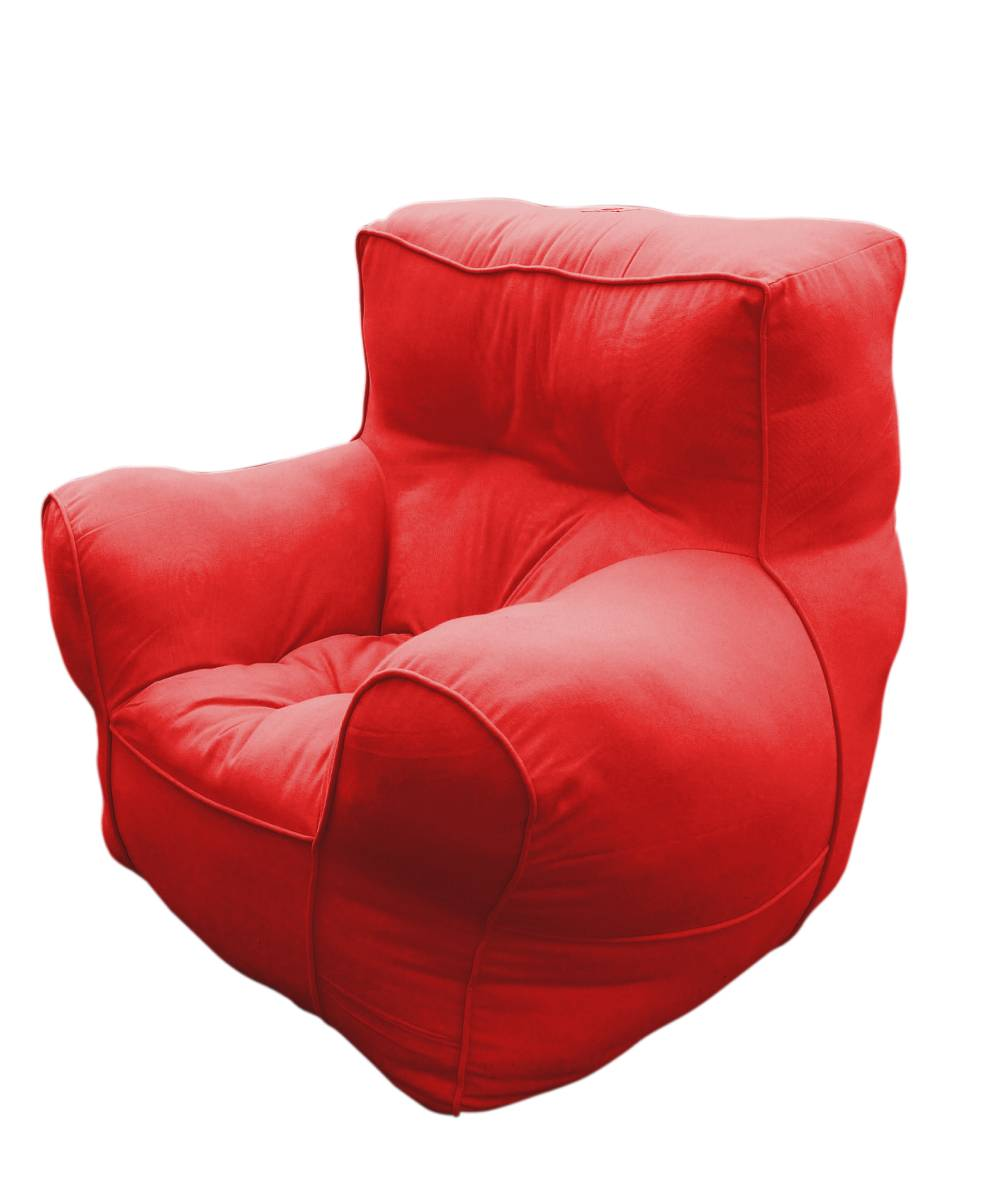 Red comfu big sofa