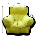 Yellow comfu big sofa