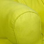 Yellow  Organic Cotton kids Sofa