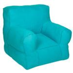 Blue  Pure Organic Cotton Kid's Sofa