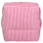 Pink and White striped  Organic Cotton  adult Sofa